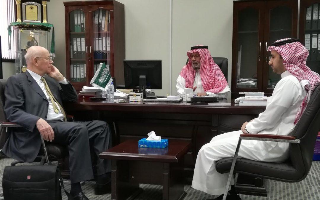 تشرفت الجمعية التاريخية السعودية اليوم الأثنين30 من رجب1439هـ بالمؤرخ الروسي إليكسي فاسيلييف
